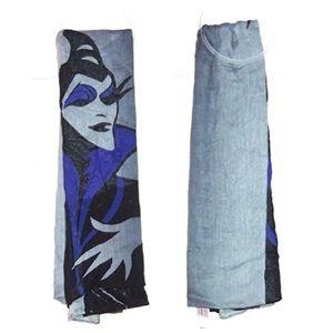 🆕Disney Maleficent Sleeping Beauty Witch Scarf